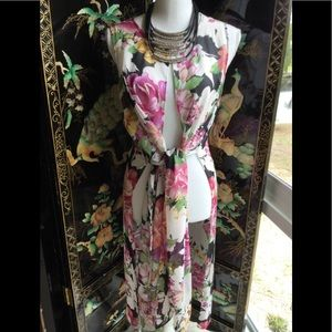 Light weight floral coverup PB2